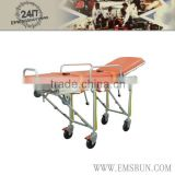 high quality hospital folding used ambulance stretcher