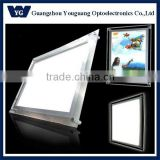 crystal light box/best brightness in China LED advertising edge-lit crystal light box