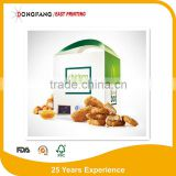 food grade paper roast chicken box packaging box hot salepaper fried chicken box