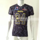 China custom made american football jerseys/custom camo football jerseys/american football jersey