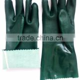 Oil Resistant,Textured Finish/Shoulder Length/And Insulated Styles Pvc Fully Coated Gloves