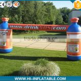 inflatable bottle arch , inflatable arch with bottle , advertising inflatable from China factory