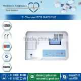 PC Based Portable 3 Channel ECG Machine Price