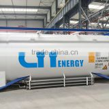 10ft/20ft/40ft ISO Tank Container For LOX/LIN/Lar/LCo2/LNG