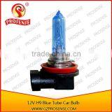 High Bright Light 12V 65W Super White Car H9 Tube Blue Halogen Bulb contact by gmail .com