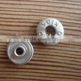 9.5mm universal brass decorative button rivets