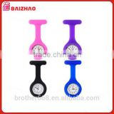 Multi color top quality of japanese movement in Nurse watch with SIlicone wristband                                                                         Quality Choice