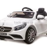 2016 newest Benz S63 kids car beds sale, car children battery 12 volt, battery kids cars with CE and EN 71 certificate