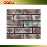Exterior clinker wall tile rustic natural design wall brick clinker panel small size 60x240mm russia outdoor cladding clinker