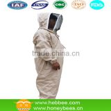 100% cotton beekeeper protective beekeeping clothing/bee clothing