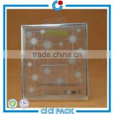 2016 New Design Clear plastic pack box for facial mask