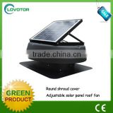 solar powered ventilation 12v dc exhaust fan
