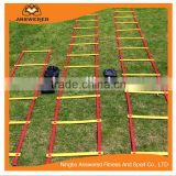 Adjustable Length Flat Rung Agility Ladder Speed Ladder Footable Training Soccer With Carrying Bag