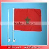 cheering Monaco car flag,car window flag wholesales manufacturer,country flag