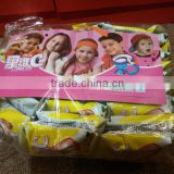 Fruity Double Colors Gummy Roll / Funny Tape Soft Sweets Jelly Candy