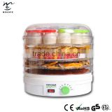 Professional electric food dehydrator machine for industrial and home with Adjustable Thermostat