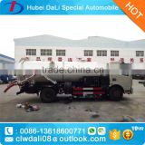 China Popular model Combined High pressure Water cleaning and Jetting Sewage suction Truck 4x2 Vacuum