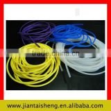 Shenzhen manufacture custom extruded soft solid silicone rubber tube