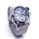 1080P Full HD 2.0MP Waterproof Security Night Vision 8GB video ,recording Watch Hidden camera With Compass&Calendar