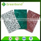 Greenbond timber factory roof design aluminum composite panel factory