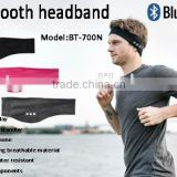 Head Sweatband Basketball Badminton Tennis Fitness Running Cycling Sports Head Sweatband Bluetooth