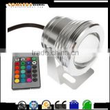 9 watt rgb swim pool led underwater light , 9 watt 316 ss led underwater ultraviolet light