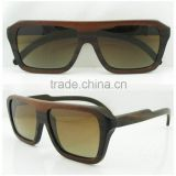 Spring hinge wood sunglasses own brand sunglasses