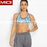 Cheap Wholesale Women Sports Clothing Custom Sublimation Sports Bra Pattern Made In China
