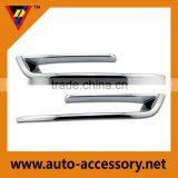 Chrome fog light plastic cover for genuine bmw parts accessories