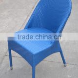 Colorful outdoor chair PE rattan chair outdoor children chair Image