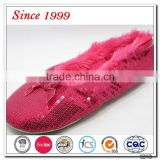 red indoor ballet slippers for girls