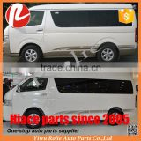 Car modification decoration accessoires body color side sticker printing A B design for Toyota hiace 2005-2016