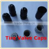 Plastic Tire Valve Caps for Car/ TPMS Schrader Plastic Long Valve Stem Caps / Wheel Tire Valve Caps