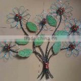 XY13585 metal wall art wholesale China wrought iron tree of life home decorative crafts online