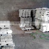 ISO certificated high grade zinc ingot 99.95% for rubber industry
