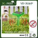 X-Pest VS-316D Solar Ultrasonic Mole Rodent Snake Repeller Pest Control for Outdoor Garden Yard (Mice Pest Control Repeller)