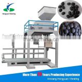 gas sensor control valve bag filling machine for irregular shape coal blocks