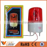 Best Selling Traffic Yellow Flashing Light Rotary Warning Light Solar Powered Traffic warning lights