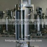 oil water centrifuge separator machine with multi protection LCD monitor for oil water separator
