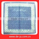 Embroidered Printing Pattern Wholesale Gauze Handkerchief