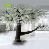 GNW BLS064 Large Artificial Tree White Cherry Blossom Decorative Flowers indooor use