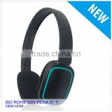 2015 new design black fashion headphones smart headset from dongguan city