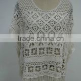 S9984 crochet belly dance hip scarf for women