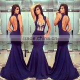 2016 Women Lace sexy party dresses long maxi bodycon lady's prom dress for wholesale