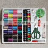 100PCS sewing kits/home sew accessory/Neddle+thread case