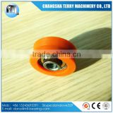 cheap price POM plastic pulley wheel bearing for window