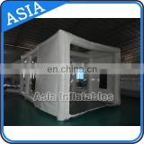 portable car paint spray booth /inflatable spraying booth for shelter/commercial mobile car booth
