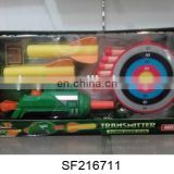 N+POPULAR ITEM--SOFT BULLET GUN.SUPER SHOT GUN WITH TARGET.SF216711