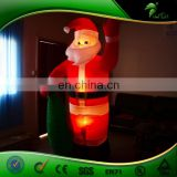 Popular Inflatable LED Santa Claus With Gift Bag, Small Indoor or Outdoor Decoration Santa
