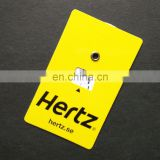Credit card size 85x54mm mini car window parking disc